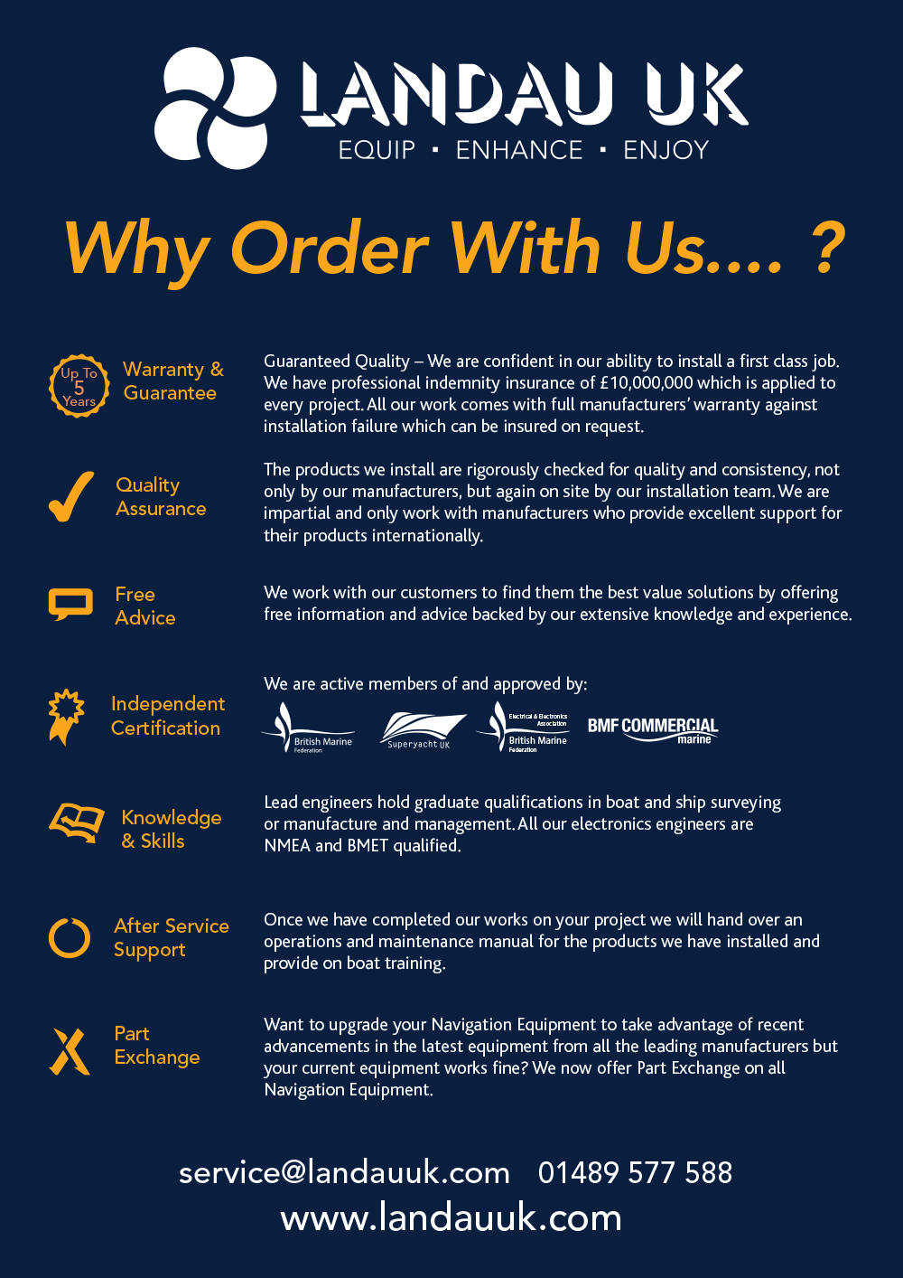 Why order with us?